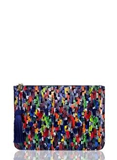 Farbag Farbag C011957 Renkli Kadın El Çantası